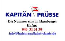 Kapitän Prüsse - Partner vom SalsaHH-Schiff